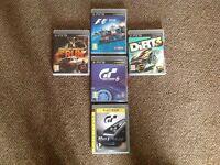 5 X PS3 games