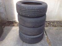 Road stone 205/50Z R17 tyres x 4