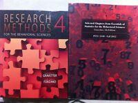 Research Methods 4th ed & Essentials of Statistics 7th ed