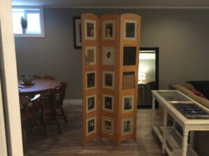 15 frame free standing picture frame