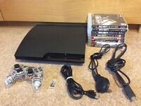 PS3 + 8 Call Of Duty games