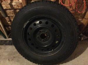 P 215 /70R16 winter snow tires