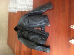 Motercycle gear for women, jacket and chaps