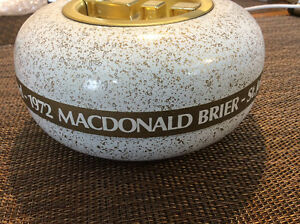 1972 MacDonald Brier, St. John's, Newfoundland, Ashtray