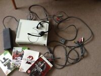 Xbox 360 plus bits and bobs