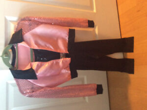 Adorable Pink Ladies costume (Grease) - child's size medium