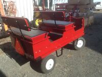 1/2 TON PIONEER MADE PONY WAGONS JUST ARRIVED