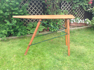 Wood Ironing Board - great display piece