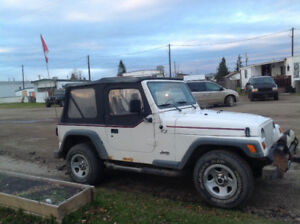 1997 Jeep TJ White Other