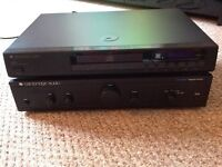 CAMBRIDGE AUDIO AMPLIFIER AND CD PLAYER