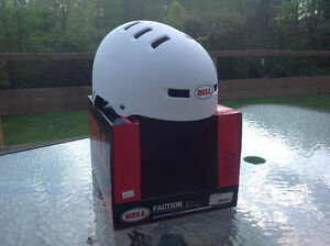 Bell Faction BMX/Skate Helmet, NIB, Large