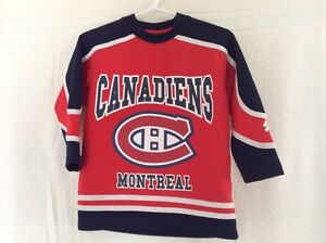 Montreal Habs shirts Size 4