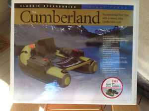 Cumberland float tube for fishing.  Backpackable.