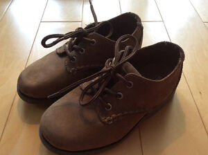 SPERRY Top-Sider boys suede shoes size 11 1/2 M