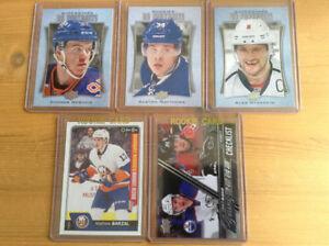 REDUCED PRICE- Hockey Cards: McDavid, Matthews, Ovechkin, Barzal