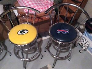 NFL and NASCAR bar tables and chairs Edmonton Edmonton Area image 1