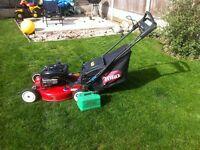 toro petrol lawn mower super recycler