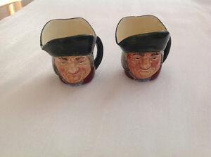 Pair of Royal Doulton Toby Collectibles for Sale