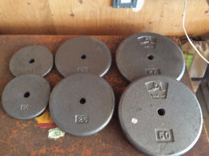 """Weights for 1"""" bar"""
