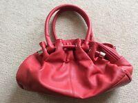 Moshulu Red Leather Handbag
