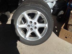 Mag nissan  avec pneu