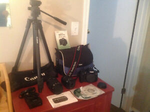 CANON Rebel T5i with lots of accessories