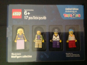 Lego Limited Edition Musicians Minifigure Collection # 5004421