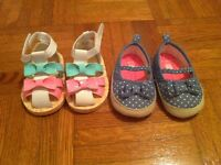 Clothing lot for a spring/summer baby girl