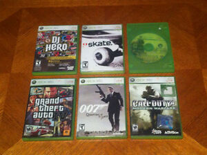 6 XBOX 360 Games $20 for all