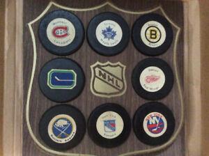 Rondelles de hockey de collection (LNH)