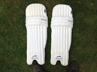 Men's Slazenger right hand batting cricket pads, used once.