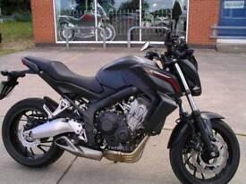 2015 Honda CB650F