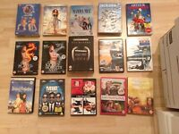Job lot 15 x DVD mainly action and thriller