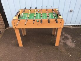 FOSSBALL TABLE FOOTBALL PRE OWNED