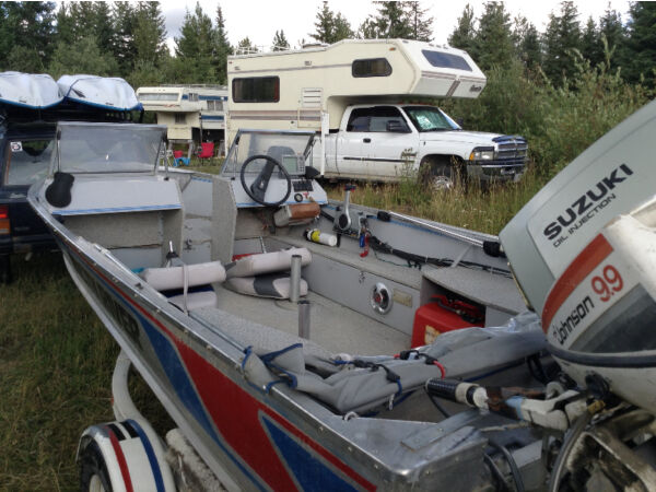Used 1987 Other Misty River 16 SS Aluminum