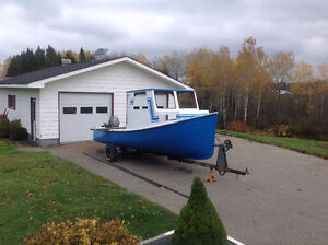 21 foot fishing Boat with 40hp Motor