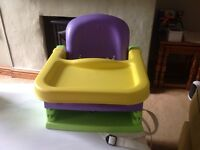 Child/toddler booster dining chair