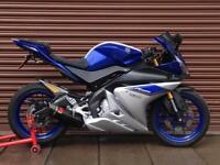Yamaha YZF R125 ABS 2016. Only 1261miles. Nationwide Delivery Available.