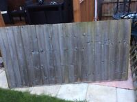 Fencing panels been reduced to £35.