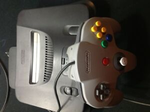 N64 with games! (not for collectors)