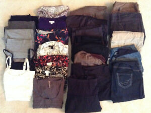 Size Large Fall/Winter Maternity Clothes - $60.00 LOWER PRICE
