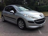 Peugeot 207 1.4 16v 90 ( a/c ) S Cheap Small 5 Door Car