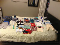 Baby Boy Clothing and accessories 0-3 months