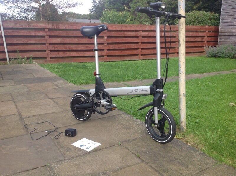 Sinclair Zike Electric Bike Working In North Berwick