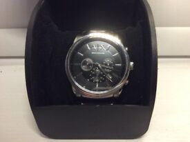 Men's Genuine Armani Exchange Watch Stainless Steel