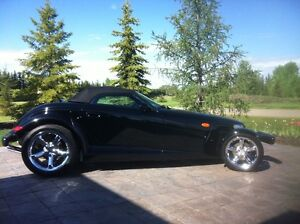 2000 Plymouth Prowler Black Convertible