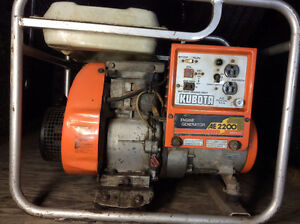 Generators Kubota 2200 and United 1300 both 4 strokes engines