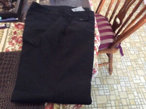Talbots Black Cotton Pant