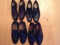Size 11 & 12 men's leather shoes