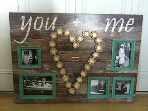 Antique Wooden Picture Frame
